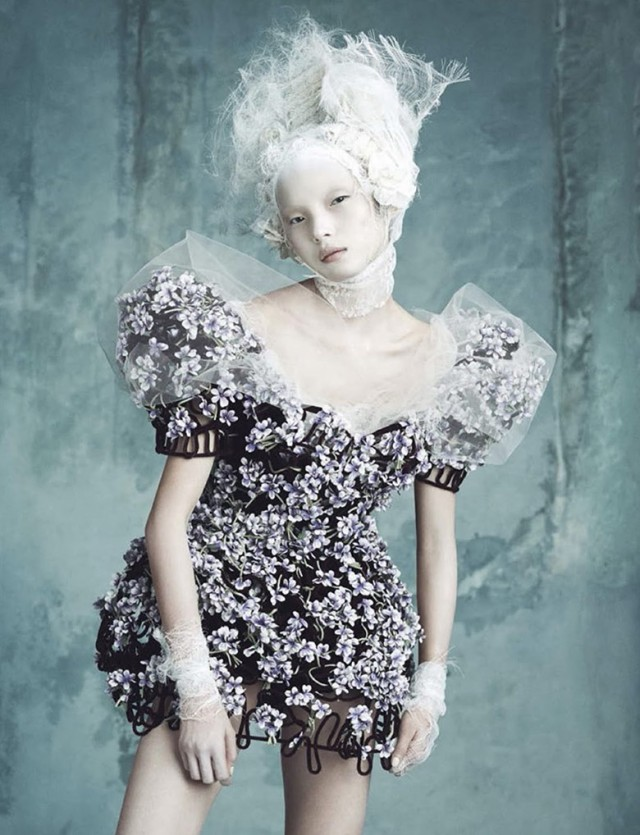 Dolce gabbana alta moda couture for vogue germany april for Alta couture