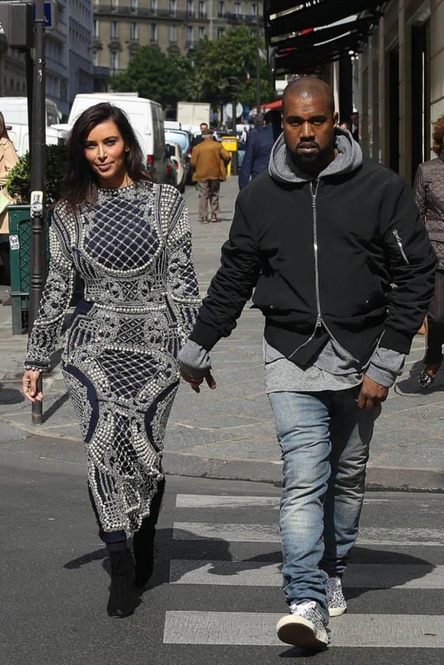 fashion victims � kanye west kim kardashian hayinstyle