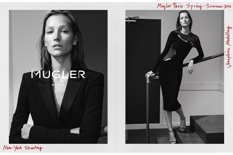 cff9bbaa66c JOSEPHINE LE TUTOUR by JOSH OLINS for MUGLER S S 2015 CAMPAIGN
