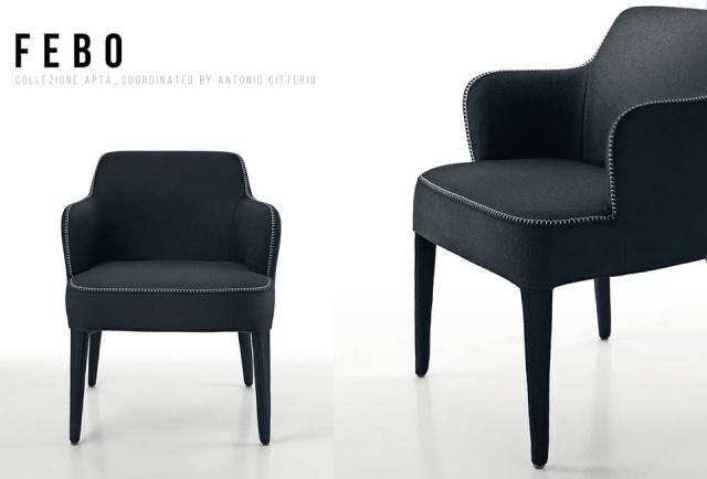 febo collection by antonio citterio for maxalto hayinstyle. Black Bedroom Furniture Sets. Home Design Ideas